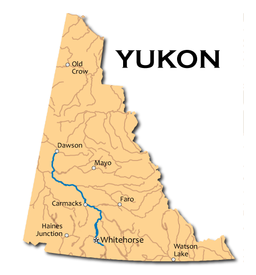 Yukon River Map